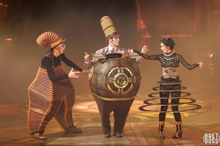 Nico the Accordion Man, Mr. Microcosmos, and Klara (image © Bret Doss)