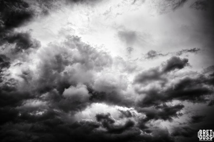 Clouds & Gulls © Bret Doss 2015 001