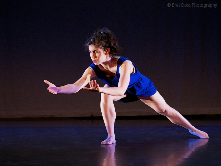 "image from ""Depicting Verbs"", choreographed and performed by Andrea Larreta -- image © Bret Doss Photography 2013"