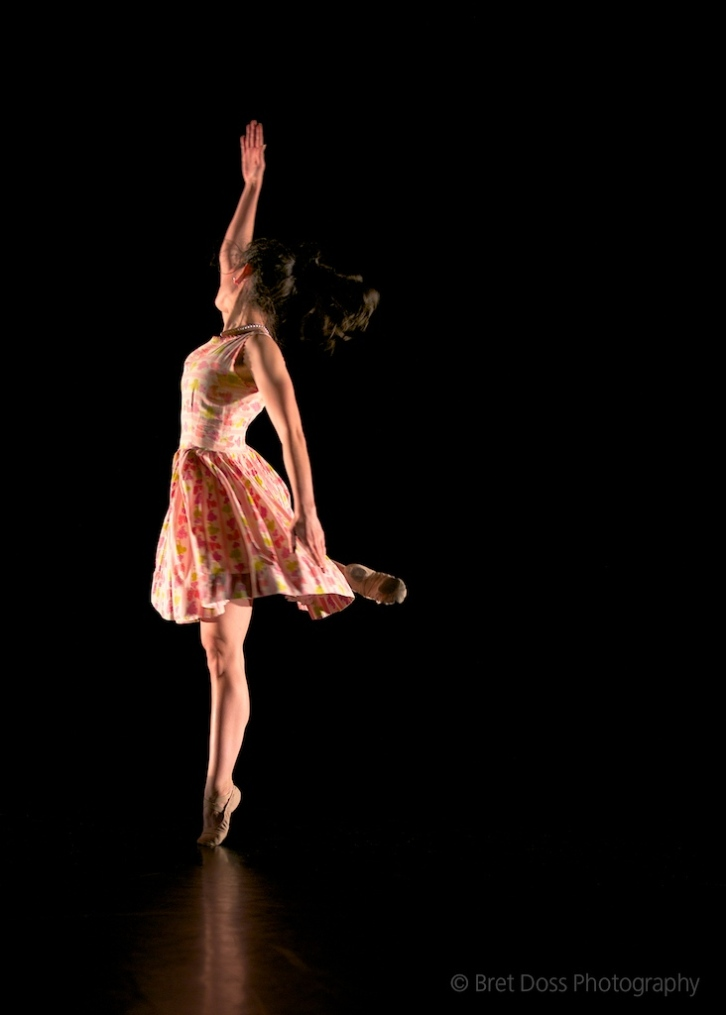Andrea Larreta in 'Real Gone' choreographed by Lauren Edson, costume by Tesee George image © Bret Doss