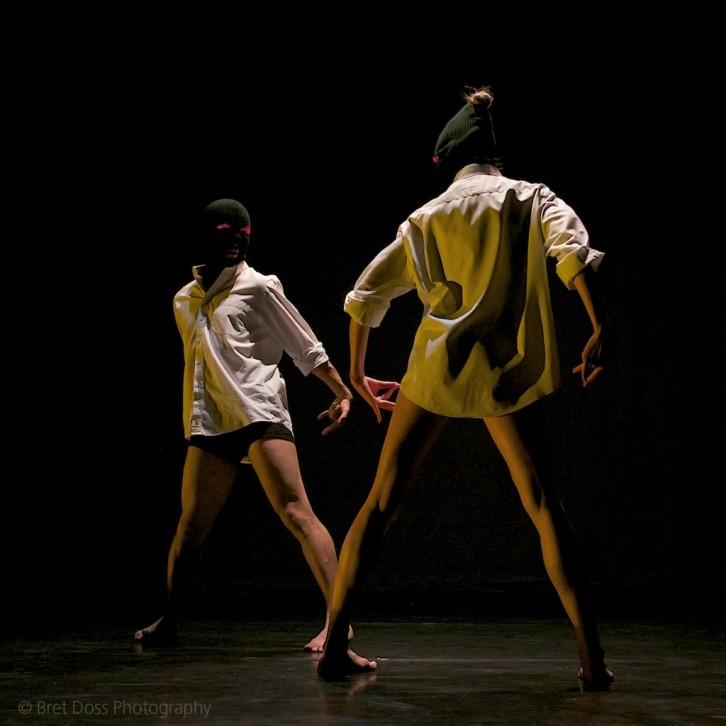 Philip Borunda & Marissa Quimby in 'Deciduous Urge' choreographed by Rainbow Fletcher, image © Bret Doss